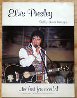 1978 ELVIS PRESLEY SOFTLY AS I LEAVE YOU THE LAST MONTHS SEAN SHAVER PHOTO ALBUM