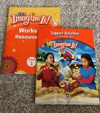 SRA Imagine It! Level 1 California Workshop Resource Book New 0076223523