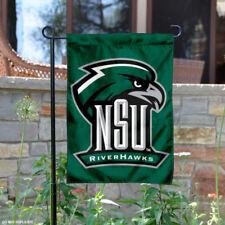 NSU Riverhawks Garden Flag and Yard Banner