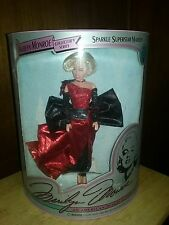 Nos 1993 Sparkle Superstar Marilyn Monroe Doll Limited Edition by Dsi #' Coa