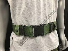 US Military WEB Belt Pistol Utility Belt Duty Belt LC-2 Quick Release MED VGC