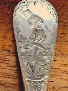 "American Silver Plated Demitasse Spoon ""Niagara"""