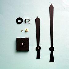 High Torque 16mm shaft quartz clock movement kit 200mm black kite hands