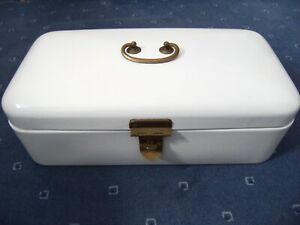 alter Brotkasten Emaille antik Sammlung Marke Nachlass Germany ca. 30er Jahre