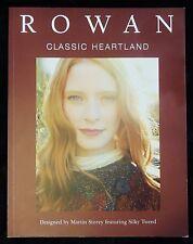 Rowan Classic Heartland 12 Martin Storey Knit Designs Featuring Silky Tweed New