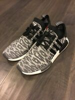 Adidas NMD_R1 PK Primeknit Shoes Sneakers Men's Size 9 CQ2444 Black New Boost