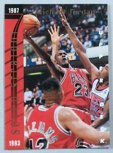 MICHAEL JORDAN SEVEN STRAIGHT SCORING TITLES INSERT CARD UPPER DECK 1993-94
