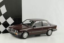 BMW 323i E30 1982 rot metallic Modellauto Diecast 1:18 Minichamps NEU