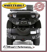 Smittybilt M1 Front 612850 & Rear 614850 Bumpers for 07-14 Toyota FJ Cruiser