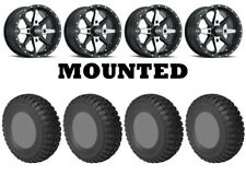 Kit 4 Sti Chicane Rx Tires 32x10-15 on Itp Cyclone Matte Black Wheels Vik (Fits: More than one vehicle)