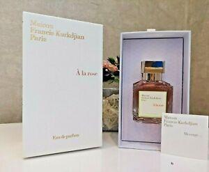 Maison Francis Kurkdjian A La Rose 2.4oz Women's Eau de Parfum NEW!!!