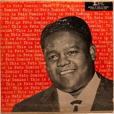 """FATS DOMINO """"This Is Fats Domino!"""" Vinyl LP - 1956 Imperial LP-9028 VG"""