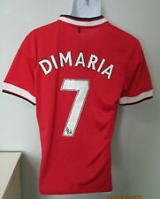 Mens Nike Di Maria #7 Manchester United Football Soccer Jersey England sz. M EUC