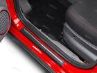 6 x Fiat Abarth Aufkleber für Türschwellen Emblem 126 Spider 500 Punto Evo #7