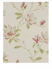 Colefax & Fowler Marchwood Wallpaper, Pink / Green, 07976/01 RRP £66