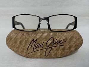 Maui Jim Glasses With Case Mj-122-02 Made In Italy