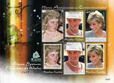 Togo - Princess Diana - 6 Stamp Sheet TOG0702