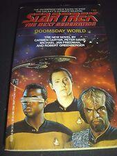 Star Trek Doomsday World 12 Michael Jan Friedman Robert Greenberger Carmen Carte