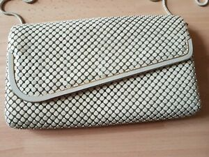 Fabulous Cream/Ivory Clutch Bag with Detachable Shoulder Strap