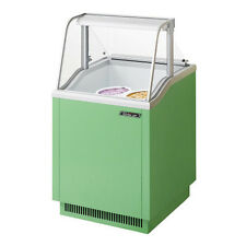 Turbo Air Tidc-26G Ice Cream Dipping Cabinet Green