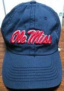 NWOT Ole Miss Rebels hat, cap blue