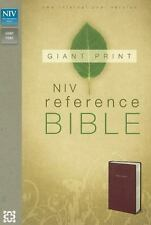 Reference Bible by Zondervan Staff (2011, Imitation Leather, Large Type)