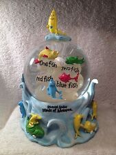 Dr. Seuss One Fish Two Fish Universal Studios Islands Of Adventure Snow Globe