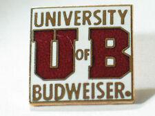 Budweiser Beer Pin University of Budweiser Drinking Pin , (Budweiser #3)(**)