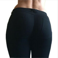 New Skinny Womens Ladies Jeans Stretchy Jeggings Fit Coloured Trousers Size 8-12
