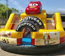 Disney Cars Bounce House - Used indoor only a few times. Ninja Jump Brand