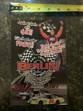 NASCAR Signed Kyle Busch Paperstock Race Ad – 25 cards ship for $9