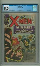 X-Men 13 (CGC 8.5) OW/W pages; 2nd app. Juggernaut; Human Torch; Kirby (c#11649)