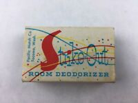 Vintage Strike Out Room Deodorizer Refreshes Rooms Collectible Matchbook