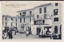 ROCCA DI PAPA ROMA NEGOZIO CON VENDITA VINI E PIAZZA ANIMATA 1930 SUPER !