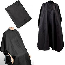 efc58eb5a5984 BARBERS HAIR CUT CUTTING HAIRDRESSING HAIRDRESSERS SALON BARBER GOWN CAPE  BLACK