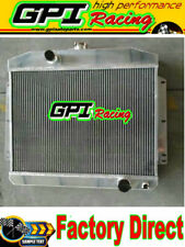 NEW 62 mm FOR Mercury W/Chevy 350 5.7 V8 M/T 1949 1950 1951 aluminum radiator