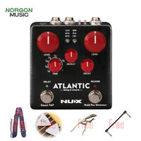 NUX Atlantic Delay Reverb Electric Guitar Accessory Effect Pedal Inside Routing