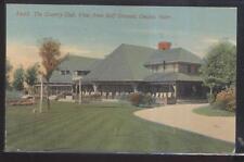 Postcard OMAHA Nebraska/NE  Local Area Golf Country Club House & Grounds 1907