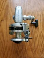 Large Hurricane 300 Open Face Fishing Spinning Reel. Vintage