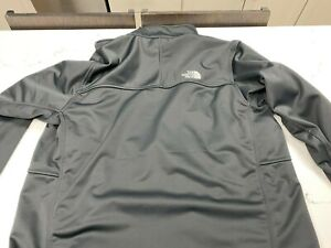 North Face Summit Series Windstopper Soft Shell BLACK Full Zip Jacket XL X-Large