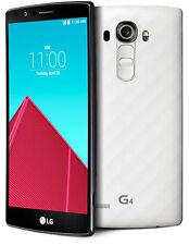 "White-LG G4 5.5"" Unlocked H810 32GB Cellphone 4G LTE 16MP 3GB RAM Fm WiFi"