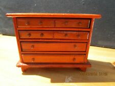 12th  Scale Dolls House  Chest of Drawers