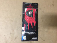 ZERO FRICTION MENS UNIVERSAL FIT GOLF GLOVE WITH BALL MARKER - Detroit Red Wings