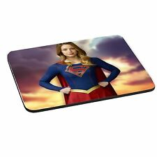 Supergirl, 5mm Thick Rectangle Mouse Mat/Pad