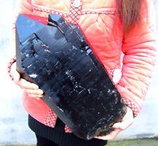 40.15lb HUGE NATURAL BLACK quartz crystal point Specimens