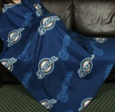 Milwaukee Brewers Baseball MLB Fleece Throw Blanket by Northwest