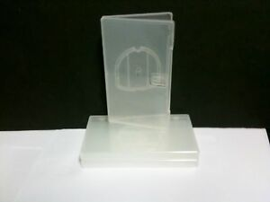ONE NEW OEM Official Original Clear Game BOX Cases W/ Sleeve for  UMD  PSP