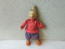 VINTAGE EMELYA(ЕМЕЛЯ) CHARACTER PLASTIC AND CLOTH DOLL, USSR/RUSSIA
