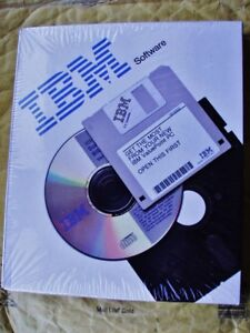 IBM OS/2 operating system release 2100 MPN 19H2403 with training CD disk