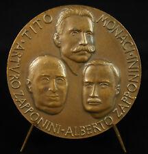 Medaglia Tito GUIDA MONACI 1970 Un secolo di tradizione Alberto Arturo Zapponini